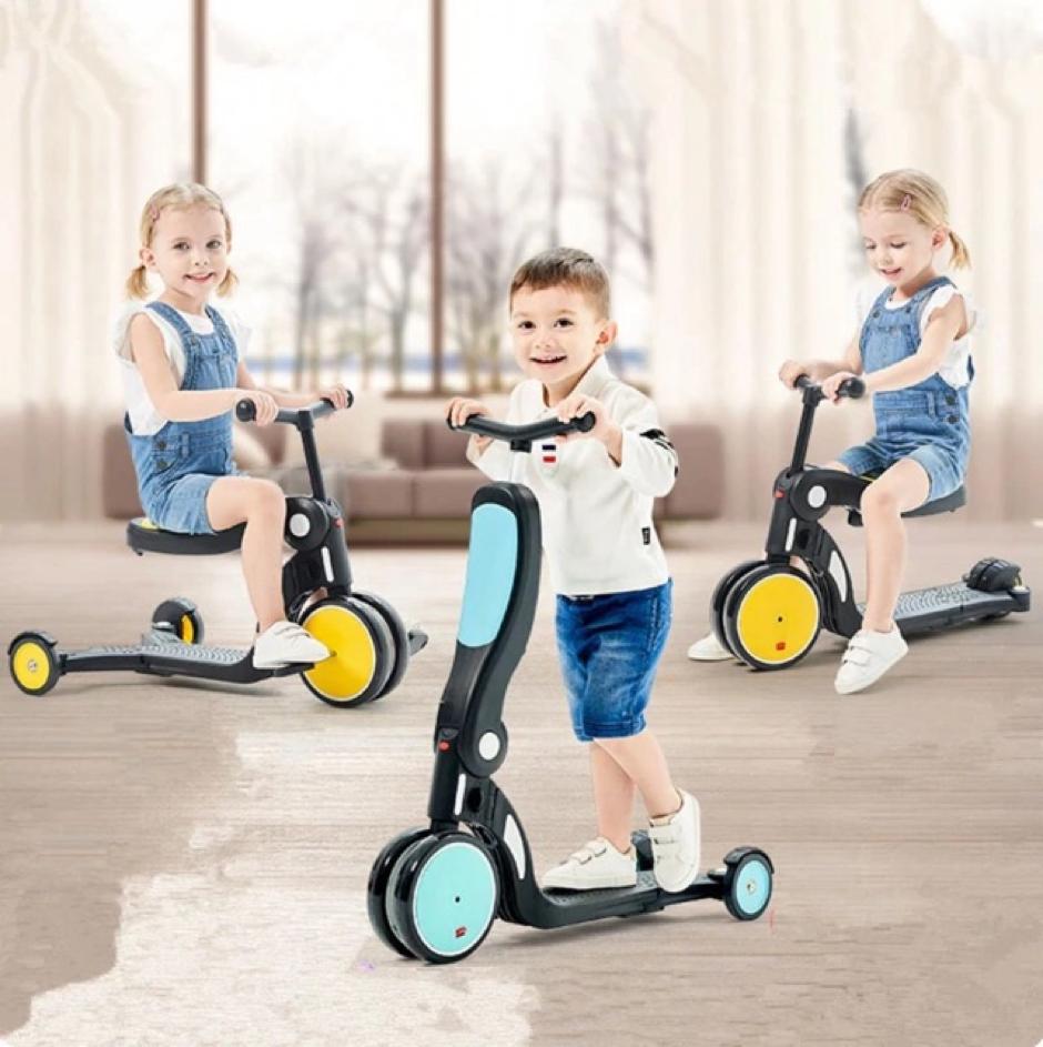Scooter giúp trẻ trở nên năng động và linh hoạt hơn